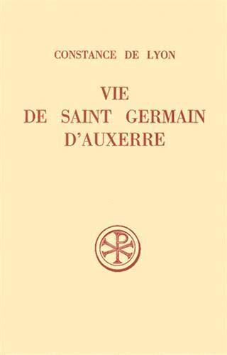 9782204039079: Vie de Saint Germain d'Auxerre (Sources Chrétiennes)