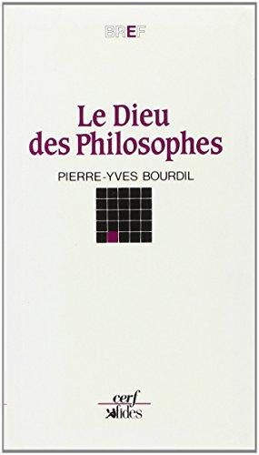9782204040341: Le Dieu des philosophes (Bref) (French Edition)