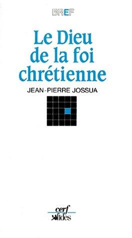 9782204040471: Le dieu de la foi chr�tienne