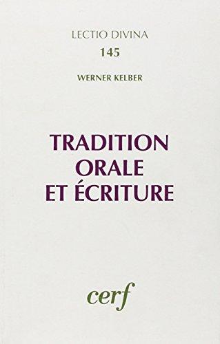9782204042468: Tradition orale écrite