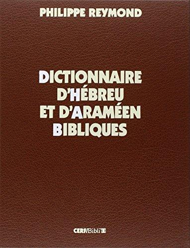 9782204044639: dictionnaire d'hébreu et d'araméen bibliques