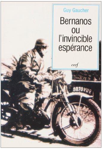 9782204048484: Georges Bernanos, ou, L'invincible espérance