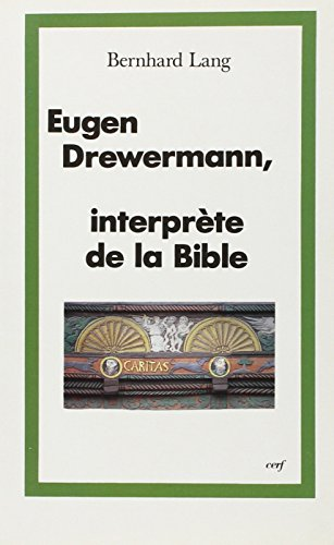 9782204048842: drewermann interprete de la bible