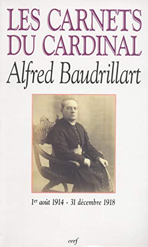 9782204050395: Les carnets du cardinal Baudrillart (French Edition)