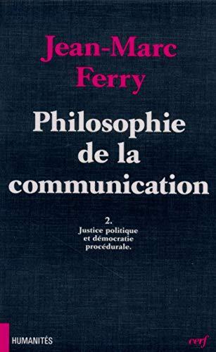 9782204050821: Philosophie de la communication
