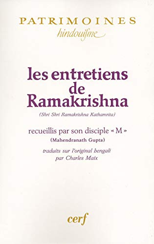 Les entretiens de Ramakrishna (Patrimoines): Ramakrishna: