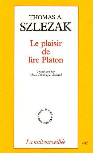9782204054133: Le plaisir de lire Platon