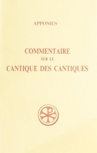 9782204055277: COMMENTAIRE SUR LE CANTIQUE DES CANTIQUES. Tome 1, Livres 1 à 3, Edition bilingue français-latin