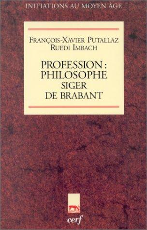 Profession philosophe, Siger de Brabant (2204056960) by Putallaz, François-Xavier; Imbach, Ruedi