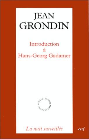 9782204063364: Introduction � Hans-Georg Gadamer