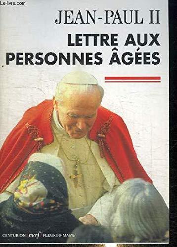 9782204064385: LETTRE AUX PERSONNES AGEES