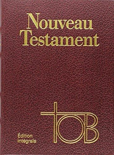 9782204068734: Tob Nouveau Testamenttob Coffret Cuir Bordeaux