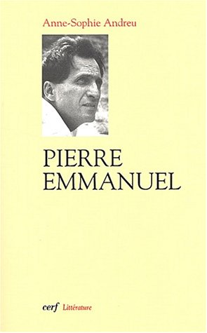 9782204069427: Pierre Emmanuel (French Edition)
