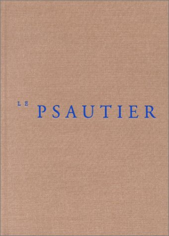 9782204070010: Le psautier (French Edition)