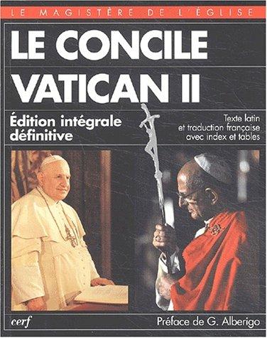9782204070485: Le Concile Vatican II, 1962-1965. Edition intégrale définitive bilingue français-latin