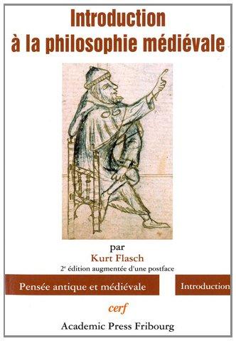 9782204072199: Introduction à la philosophie médiévale