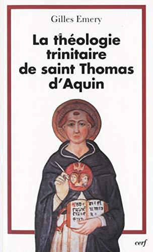 9782204074810: La théologie trinitaire de saint Thomas d'Aquin