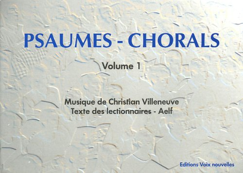 9782204075503: Psaumes - Chorals : Volume 1