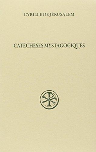 9782204077804: Cat�ch�ses mystagogiques 2eme edition