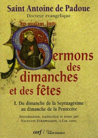 9782204078344: Sermons des dimanches et des fetes : Tome 1 (French Edition)