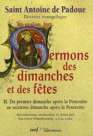 9782204081160: Sermons des dimanches et fetes t2 (Sagesses chrétiennes)