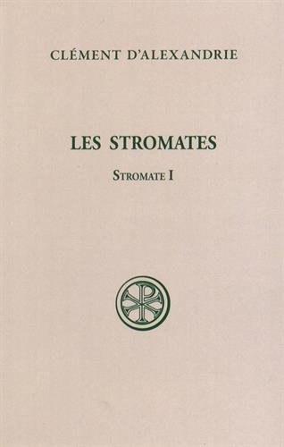 9782204081610: Stromate i