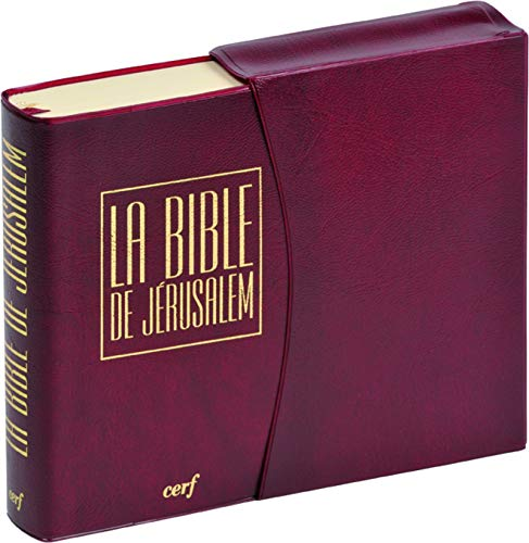 9782204083492: La Bible de Jérusalem [Format: Poche vinyle bordeaux ]