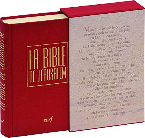 La Bible de JÃ rusalem (French Edition): L'Ecole Biblique de