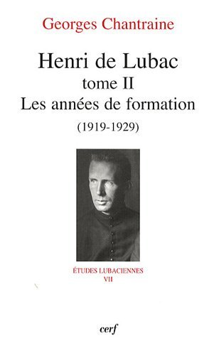 9782204085892: Henri de Lubac (French Edition)