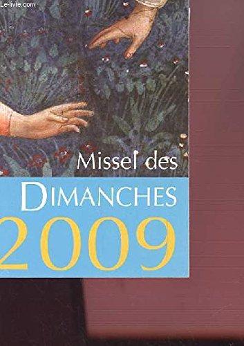 9782204086448: Missel des Dimanches 2009