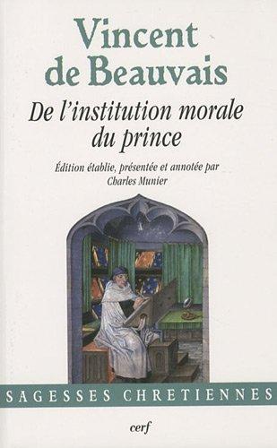 9782204088046: De l'institution morale du prince
