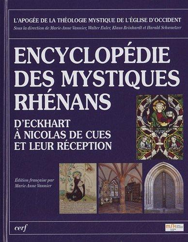 9782204088992: encyclopedie des mystiques rhenans. eckhart, tauler, suso et nic