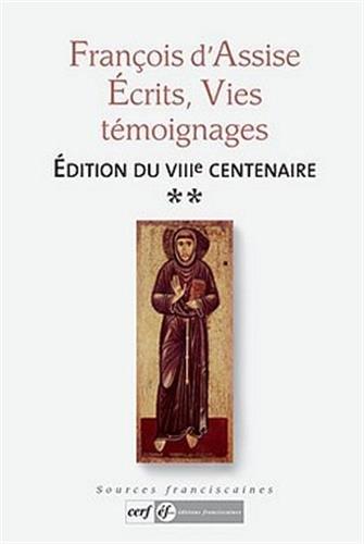 9782204090513: François d'Assise : Ecrits, vies, témoignages Tome 2