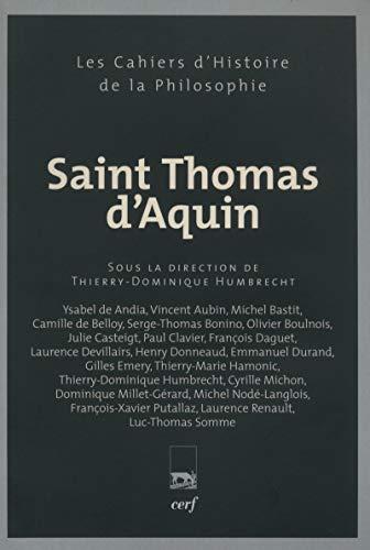 9782204091404: Saint Thomas d'Aquin (French Edition)
