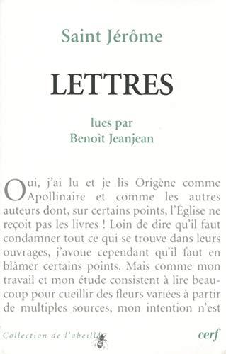 9782204093224: Saint Jérôme : Lettres