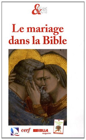 9782204093477: Le mariage dans la Bible (French Edition)