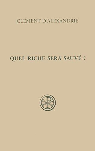9782204095303: Quel riche sera sauvé ?