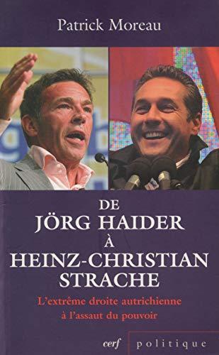 9782204096706: jorg haider. l'extreme droite autrichienne a l'assaut du pouvoir
