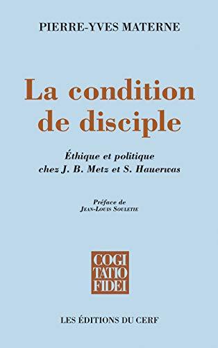 9782204099622: Condition de disciple