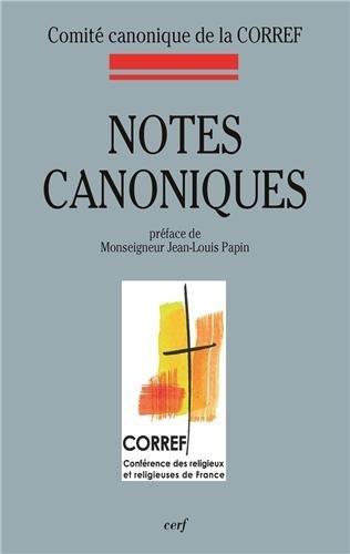 NOTES CANONIQUES: COMITE CANONIQUE