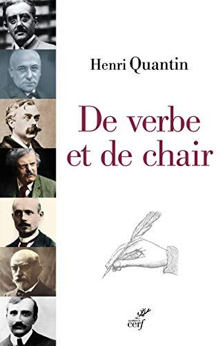 9782204102513: De verbe et de chair : Péguy, Bloy, Bernanos