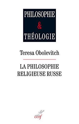 La philosophie religieuse russe