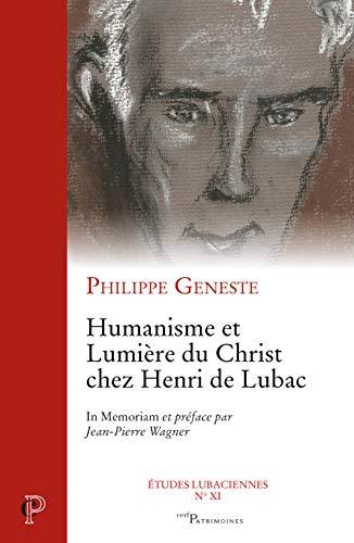 HUMANISME ET LUMIERE DU CHRIST CHEZ HENR: GENESTE PHILIPPE