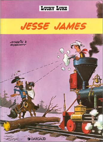 Lucky Luke, tome 4 : Jesse James: Morris et René