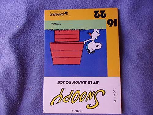9782205016666: Snoopy et le Baron Rouge