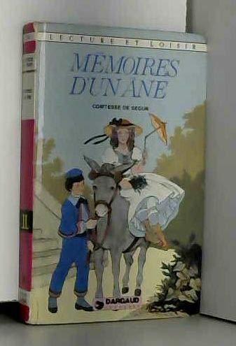 9782205017175: Mémoires d'un âne (Lecture et loisir)