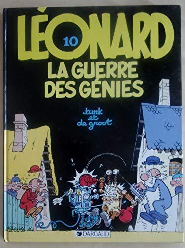 9782205025088: La Guerre des génies (Léonard)