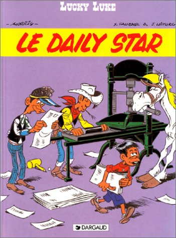 9782205026924: Le Daily star (Lucky Luke) (French Edition)