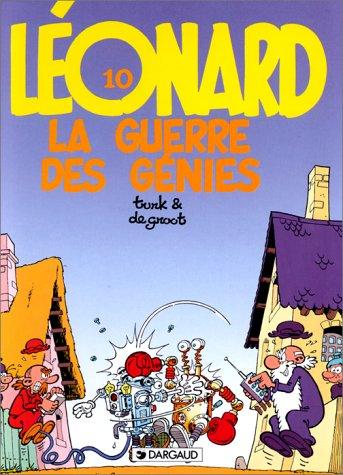 9782205032178: LEONARD NUMERO 10 : LA GUERRE DES GENIES