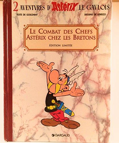9782205046854: Une Aventure d'Ast�rix, Tome 4 : Le combat des chefs ; Ast�rix chez les Bretons : Edition limit�e